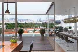 Real Estate in 1030 Wien : A property with clear advantages: close to the city, quiet and bright.