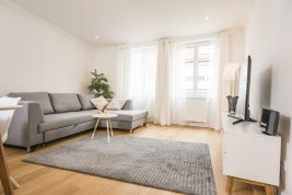 Real Estate in 1010  Wien : Modern city apartment overlooking the St. Stephan's Cathedral