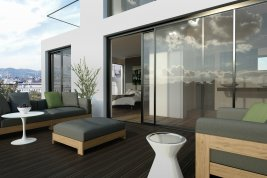 Real Estate in 1040 Wien: 4th district: Stylish roof-garden penthouse with views overlooking Vienna! - Picture