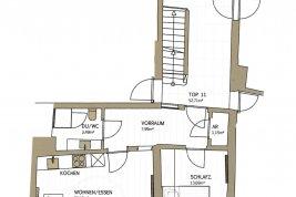 Immobilie in 5020  Salzburg: GOLDGASSE - ERSTBEZUG nach Sanierung: Charmante Wohnung mit Lift in revitalisierten Altstadthaus! - Bild