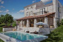 Immobilie in 52424  Motovun: Mediterrane Natursteinvilla mit Pool in prädestinierter Lage - Bild