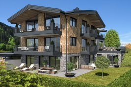 Immobilie in 6370 Kitzbühel : KITZBÜHEL: schicke Gartenwohnung zum Erstbezug Nähe Schwarzsee inkl. Einrichtungsgutschein!