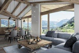 Real Estate in 6370 Kitzbühel : Kitzbühel: Weihnachten im neuen Penthouse Nähe Schwarzsee