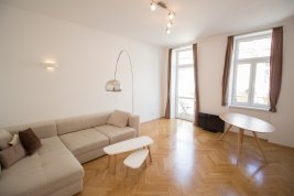 Real Estate in 1030 Wien : 3rd District:  3-Room old-building apartment near Rudolfstiftung