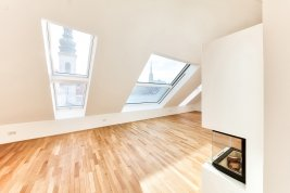 Immobilie in 1010 Wien : WIEN 1. BEZIRK - STADTLEBEN DELUXE MIT AUSBLICK: Atmosphärische Dachterrassenwohnung