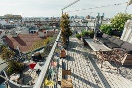 Immobilie in 1030 Wien : ZUM ENTSPANNEN:  Sonnige Penthouse-Wohnung in unmittelbarer Nähe zum Rochusmarkt